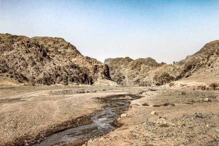 Canyon auf dem Weg zum Dünenfeld