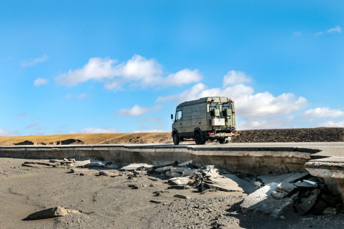 Straßen im Gobi Gurvan Saikhan National Park