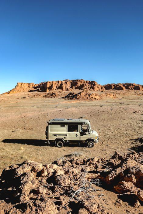 Red Cliffs   Mongolei