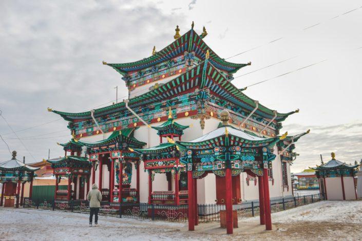 Iwolginski Dazan | Buddhistisches Kloster bei Ulan Ude
