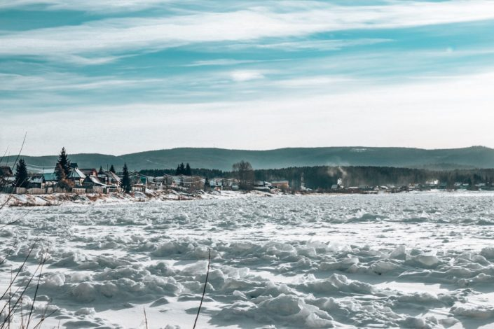 Stellplatz kurz vor Irkutsk