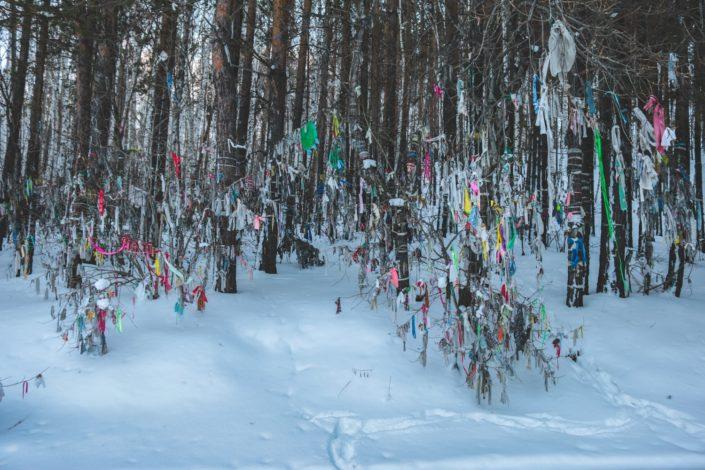 Stellplatz bei Talzy | Auch hier ist überall der Buddhismus zu finden