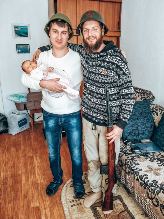 Besuch einer befreundeten Familie in Ulan Ude | Diskussionsbedarf?
