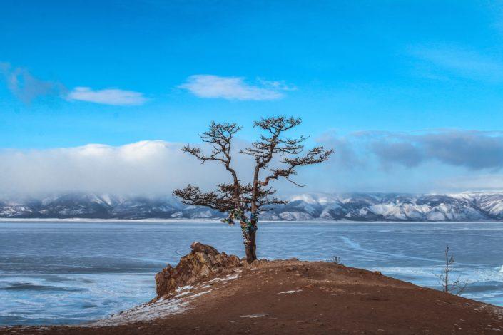 Olchon auf dem Baikal See