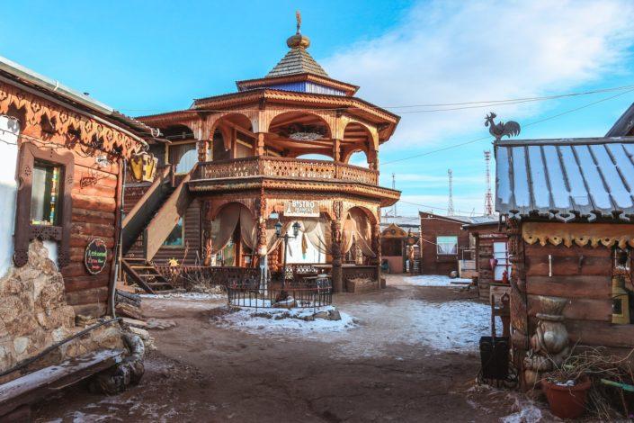 Café Français auf der Insel Olchon in Russland... Warum nicht! :D