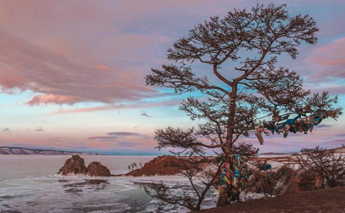 Sonnenuntergang am Shaman Rock