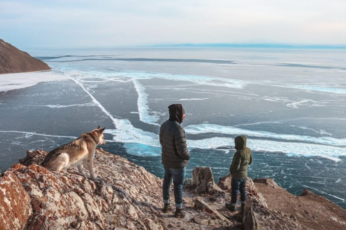 Einmal Aussicht genießen bitte... - Baikal See