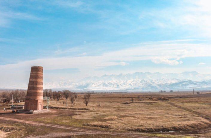 Der Burana Turm bei Tokmok