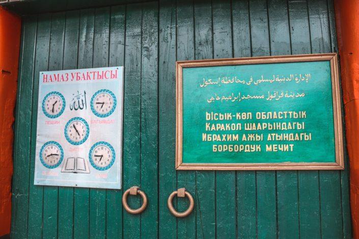 Dunganen Moschee in Karakol