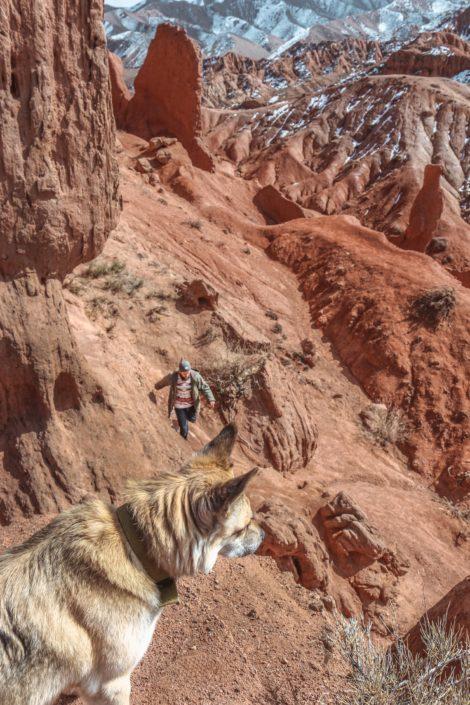 Ganz allein unterwegs im Fairytale Canyon