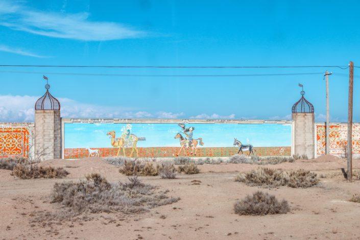 Entlang des Issyk Kuls, Kirgistan