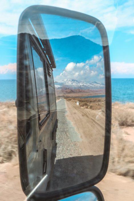 Unterwegs am Issyk Kul - Kirgistan