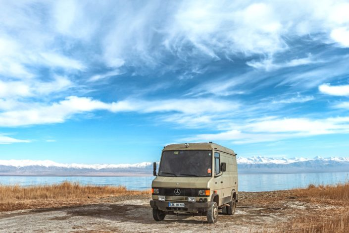 Geronimo am Issyk Kul