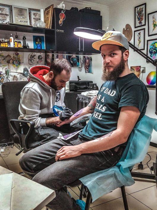 Zeitvertreib | Besarion Tattoo Almaty