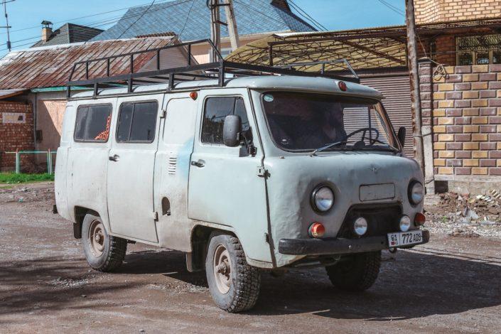 Das war unser Versorgungsfahrzeug, welches wir nutzen um Besorgungen zu machen