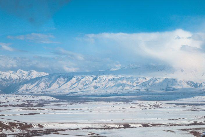 Landschaftlich toll aber uns etwas zu kalt...
