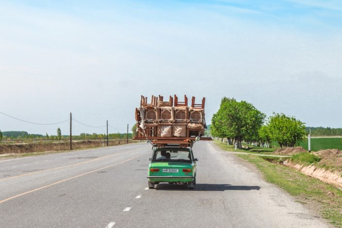 Auf dem Weg nach Tashkent