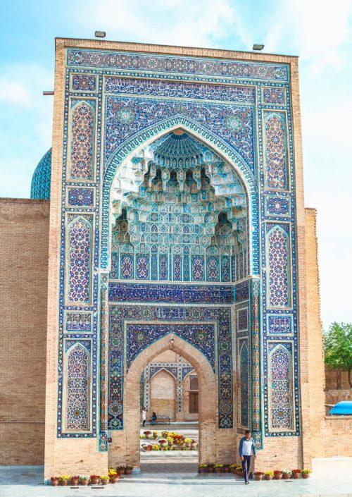 Ak-Sarai Mausoleum | Samarkand