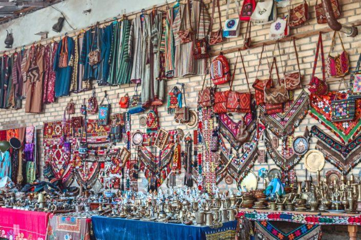 Straßenstände in Buchara