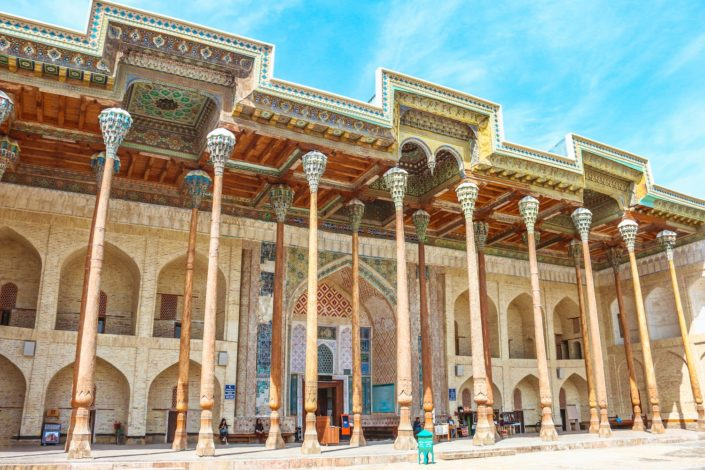 Bolo-Khauz Moschee | Buchara