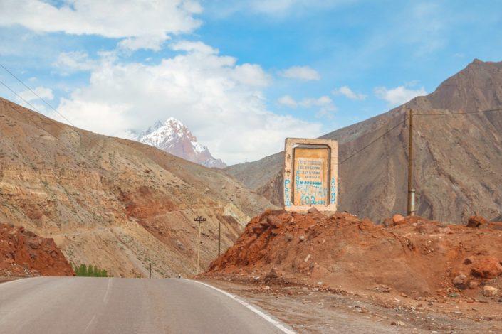 Auf dem Weg nach Duschanbe