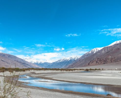 Unser Weg durch das Wakhan Valley - Immer am Pandsch entlang