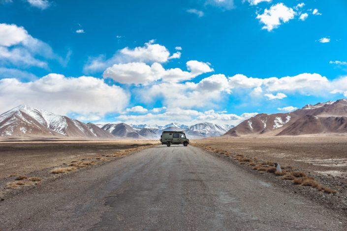 Auf dem Weg nach Karakol
