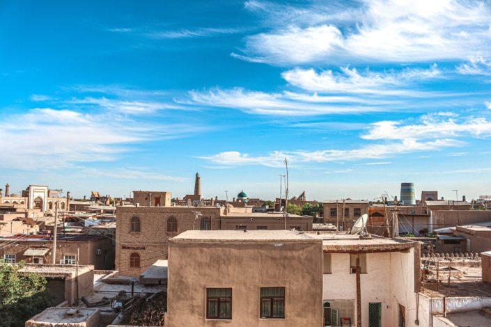 Blick über Khiva