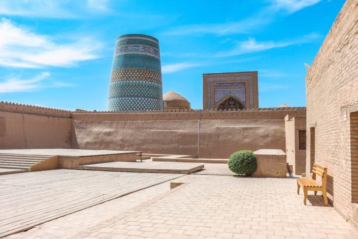Kunia Ark mit Blick auf Minaret Kalta Minor